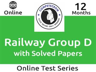 Railway Group D Online Test Series