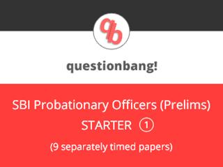 SBI Probationary Officers (Prelims) Starter Pack 1 Online Test Series