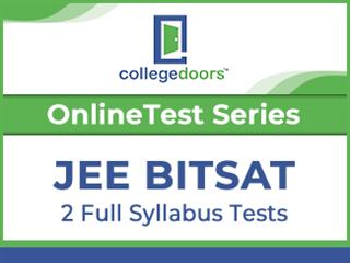 JEE BITSAT Online Test Series (2 Tests)