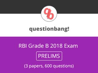 RBI Grade B Exam (Prelims) Online Test Series