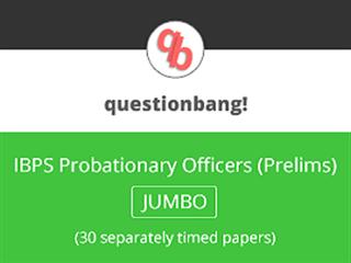 IBPS PO (Prelims) Online Mock Test Series (Jumbo Pack)