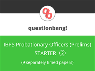 IBPS PO (Prelims) Online Mock Test Series (Starter Pack 2)
