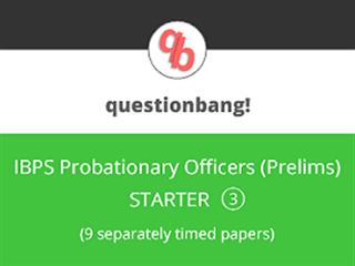 IBPS PO (Prelims) Online Mock Test Series (Starter Pack 3)
