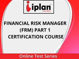 Financial Risk Manager (FRM) Part 1 (Certification Course) Online Test Series