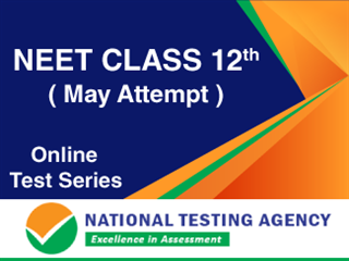 NEET - Class 12th Online Test Series May Attempt