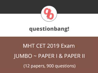 MHCET Jumbo Pack Online Test Series