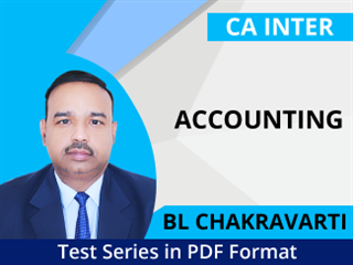 CA Inter Accounting Test Series