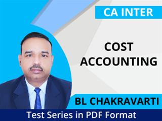 CA Inter Cost Accounting Test Series