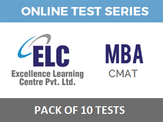 MBA CMAT Online Test Series - Pack 10