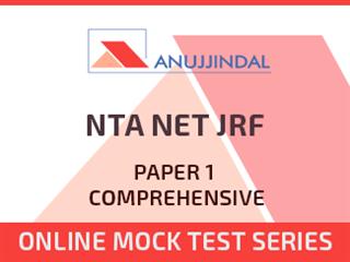 NTA NET JRF Paper 1 Comprehensive Online Mock Test Series