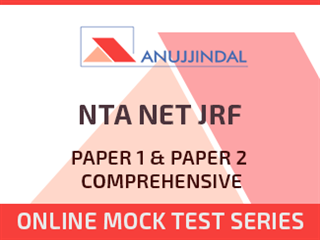 NTA NET JRF Paper 1 & Paper 2 Comprehensive Online Mock Test Series