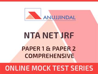 NTA NET JRF Paper 1 & Paper 2 Comprehensive Online Mock Test Series
