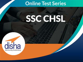 SSC CHSL Online Mock Test Series by Disha Publication