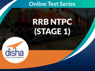 RRB NTPC (Stage 1) Online Mock Test Series by Disha Publication