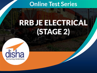 RRB JE Electrical (Stage 2) Online Mock Test Series by Disha Publication