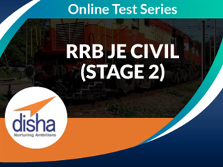 RRB JE Civil (Stage 2) Online Mock Test Series by Disha Publication