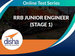 RRB Junior Engineer (Stage 1) Online Mock Test Series by Disha Publication