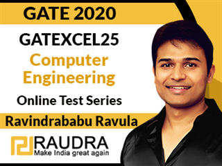 GATEXCEL25 Computer Engineering Online Test Series by Ravindrababu Ravula