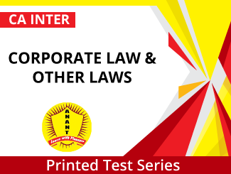 CA Inter Corporate Law & Other Laws Test Series