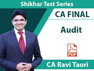 CA Final Audit Shikhar Test Series