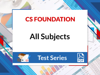 CS Foundation All Subjects Test Series