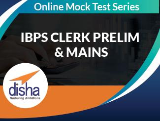 IBPS Clerk Prelim & Mains Online Test Series