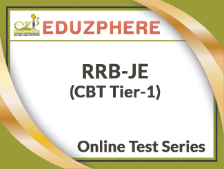Eduzphere RRB-JE (CBT Tier-1) Online Test Series
