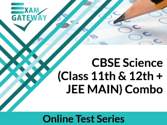 CBSE Science Class 11th & 12th + JEE MAIN Combo Online Test Series