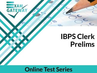 IBPS Clerk Prelims Online Test Series