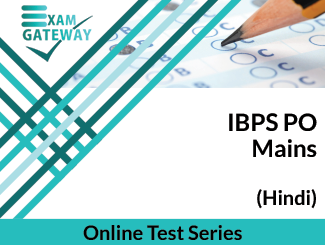 IBPS PO Mains Online Test Series (Hindi)
