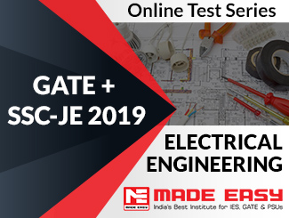 GATE + SSC-JE 2019 Electrical Engineering Online Test Series