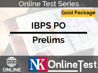 IBPS PO Prelims Online Test Series - Gold Package