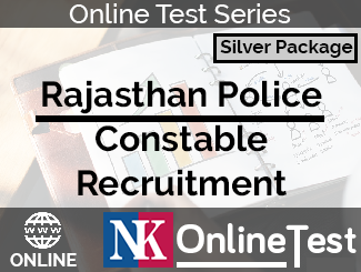 Rajasthan Police Constable Recruitment Online Test Series - Silver Package