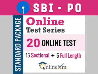 SBI PO Online Test Series (Standard Package)