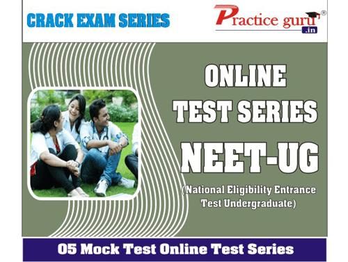 5 Online (Full Course) Mock Tests for NEET-UG