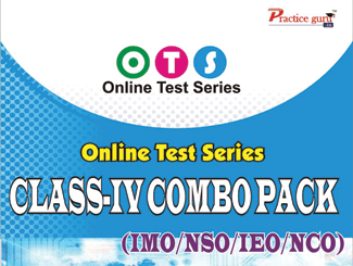 Topic Wise tests For Class 4 - Combo Pack (IMO / NSO / IEO / NCO)