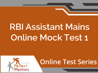 RBI Assistant Mains Online Mock Test Series (60 Days)