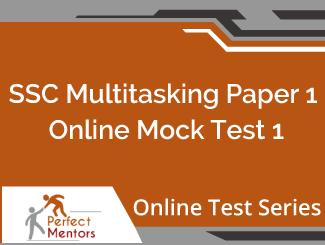SSC Multitasking Paper 1 Online Mock Test - 2 Months