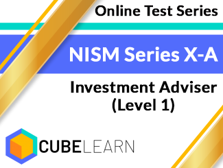 NISM Series X-A Investment Adviser (Level 1) Online Test Series