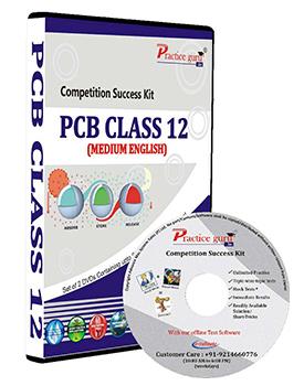 CBSE Class 12 (PCB) Online Test Series on DVD