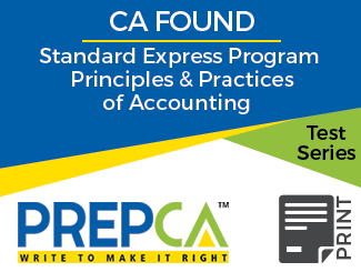 CA Foundation Standard Express Program Principles & Practices of Accounting Test Series