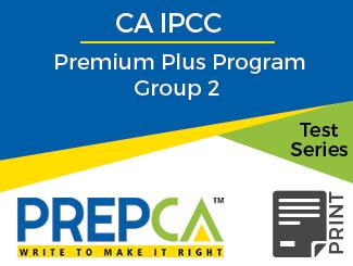CA IPCC Premium Plus Program Group 2 Test Series