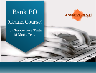Bank PO Exams Grand Online Test Series by PREXAM