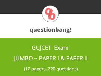 GUJCET Jumbo Online Test Series