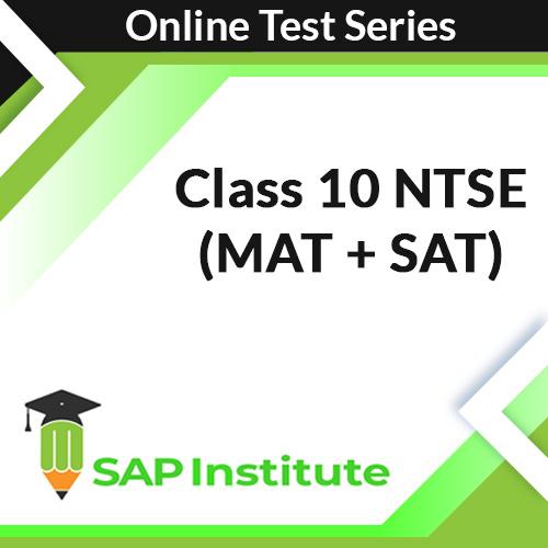 Class 10 NTSE (MAT + SAT) Online Test Series