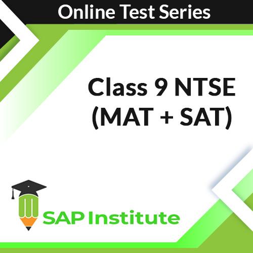 Class 9 NTSE (MAT + SAT) Online Test Series