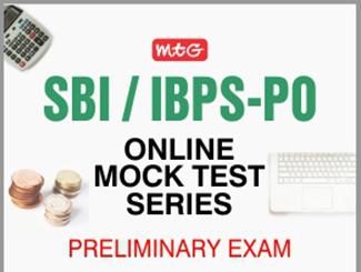 SBI/IBPS PO Prelims Online Mock Test Series