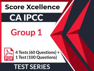 CA IPCC Group 1 Test Series (5 Tests)