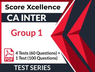 CA Inter Group 1 Test Series (5 Tests)