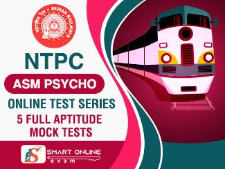 NTPC ASM Psycho Online Test Series (Silver)